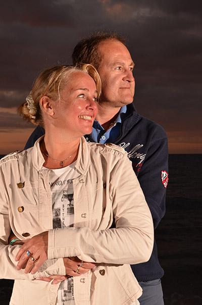 Gerson en Renate de Vries zijn gediplomeerd Rots en Watertrainer
